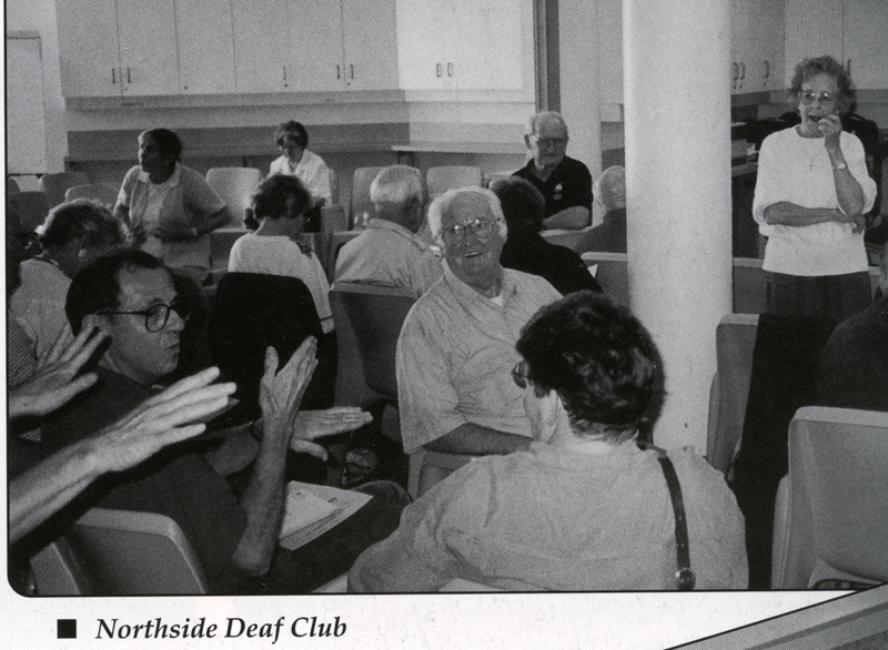 Northside Deaf Club [photo in 1998 Hands Up NSW