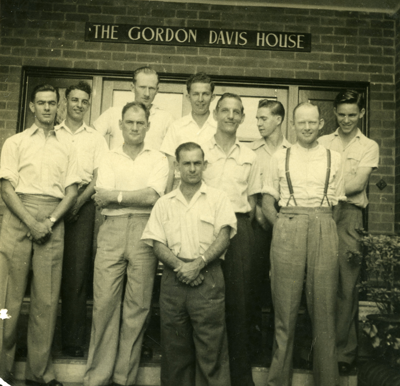 Men at Gordon-Davis House