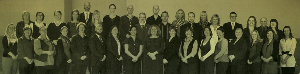 Deaf Society Staff in 2010
