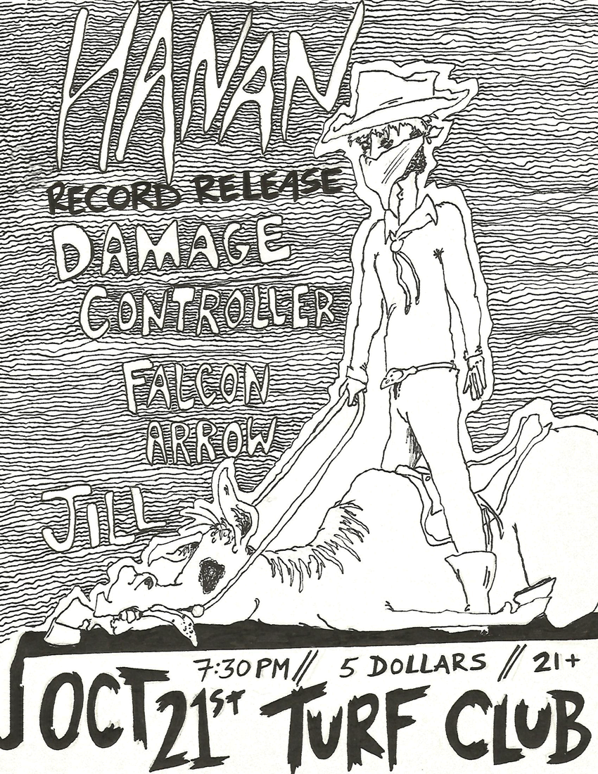 With Special guests - Jill, Falcon Arrow and Damage Controller - 21st October 2014 @ Turf Club, Saint Paul