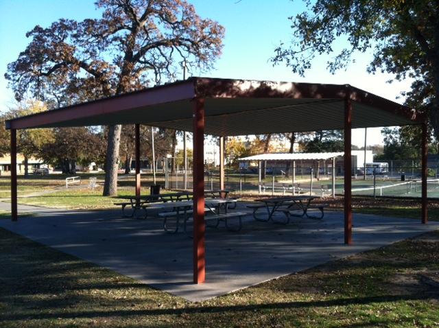 Woodland Park - Shawnee OK Pavilion.JPG