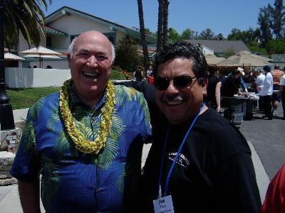Pastor Chuck and pastor Bob Ybarra at pastors conference in Murrieta, CA