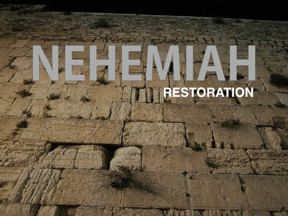 Studies through the book of Nehemiah from Sunday morning Gatherings at Calvary Chapel Perris Valley by pastor Bob Ybarra