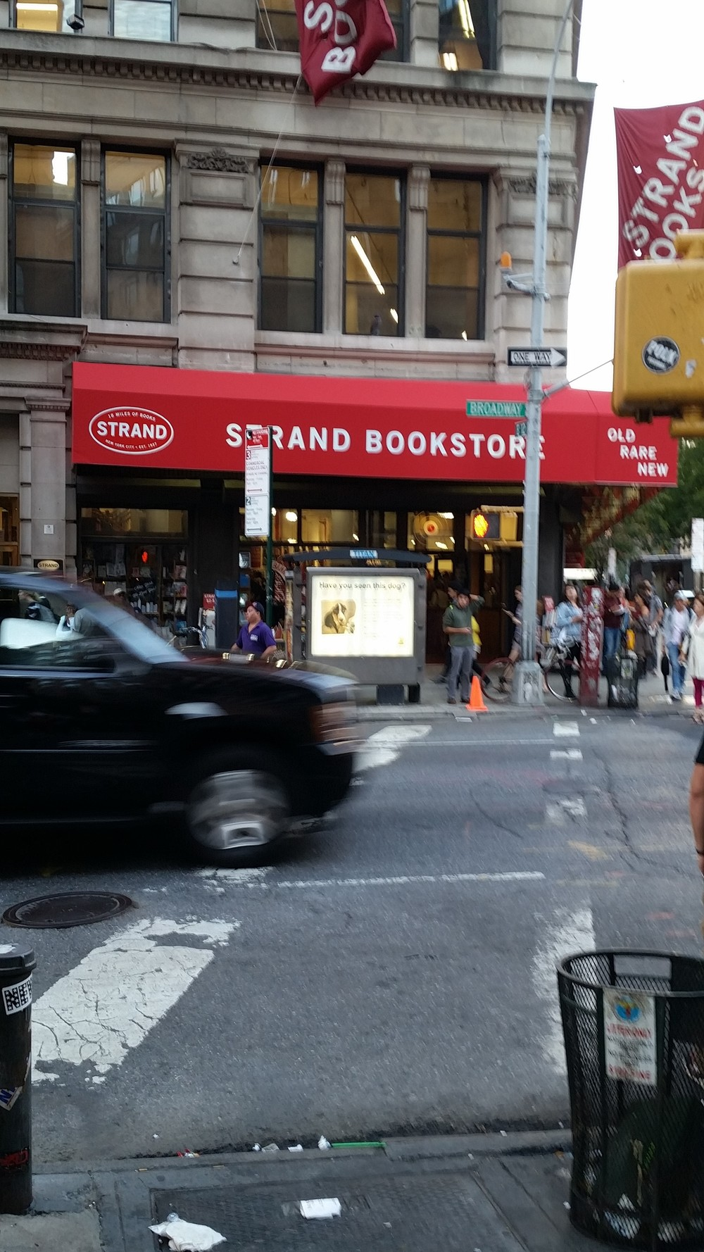 Strand Book Store in NYC