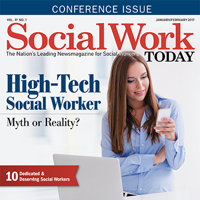 My Cover Story! High-Tech Social Worker: Myth or Reality?