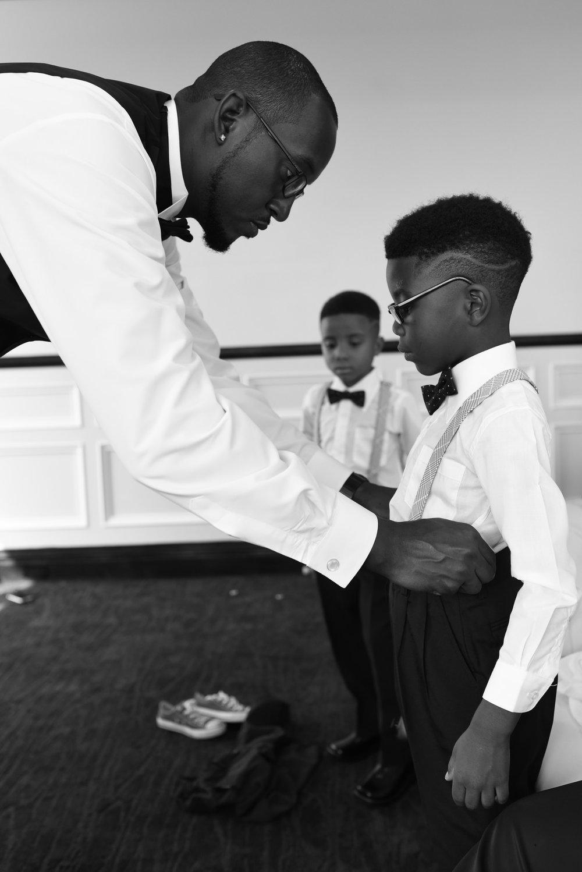 Wedding prep, Sept. 2016