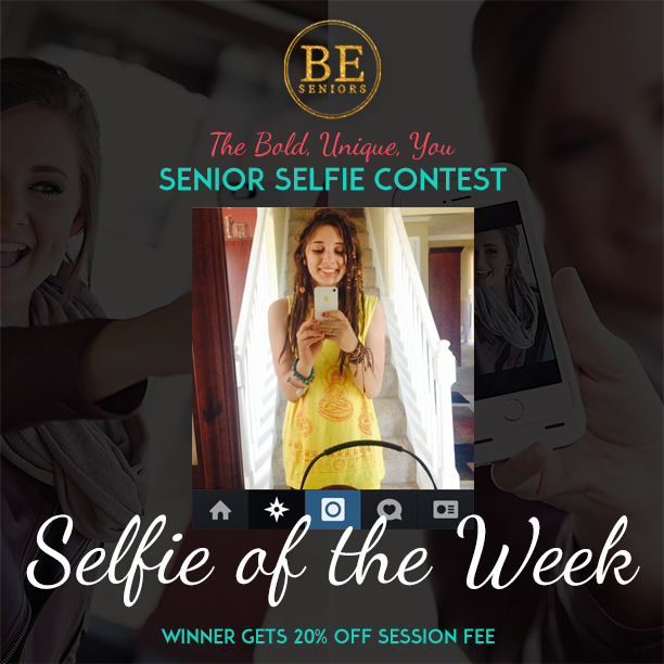 Bold, Unique, You Selfie of the Week winner