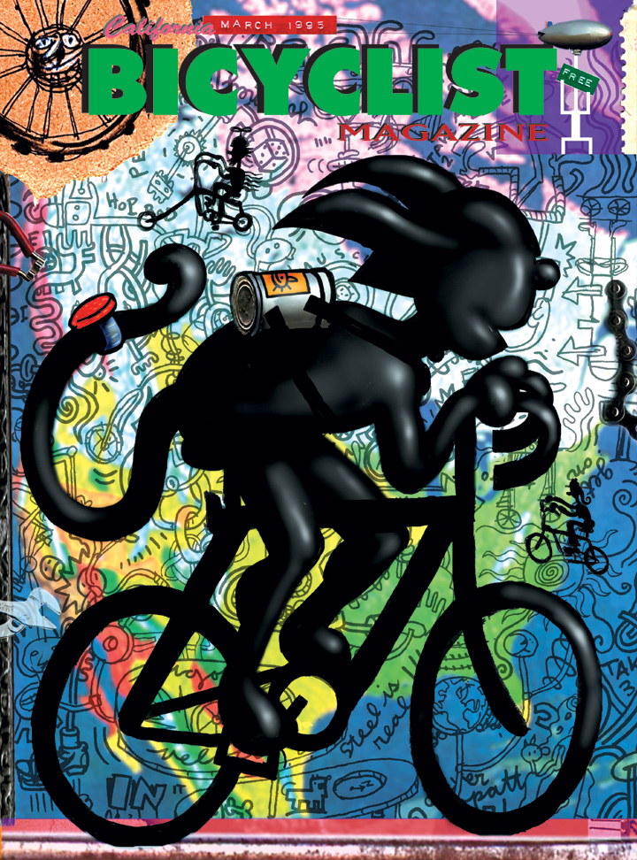 Cover for California Bicyclist magazine
