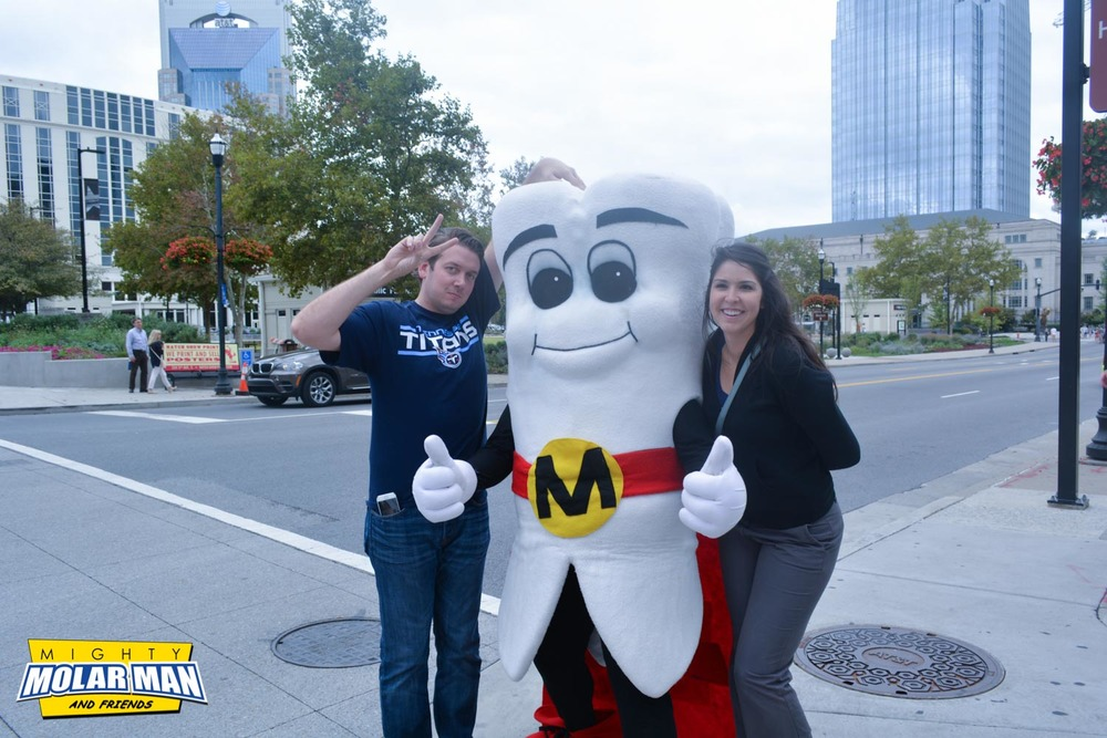 Mighty MolarMan and his Molar Maniacs in Nashville