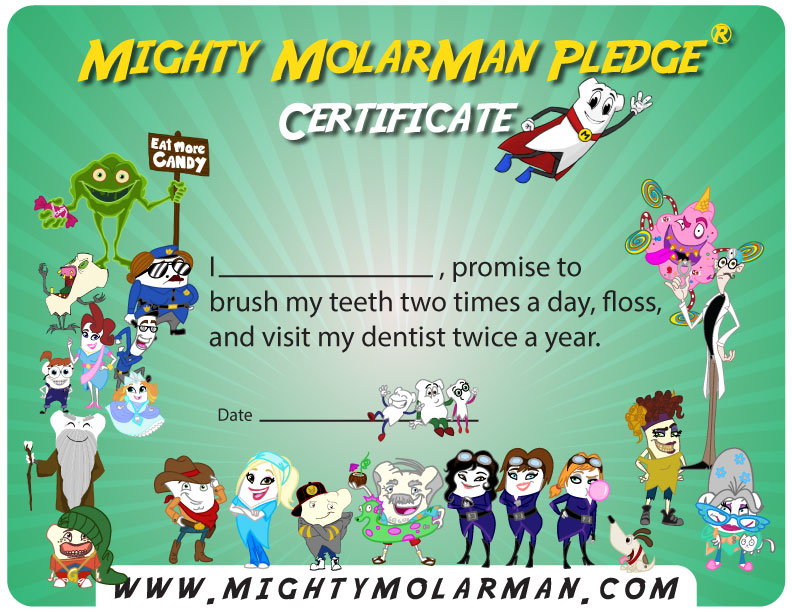 Official hashtag #mightymolarman