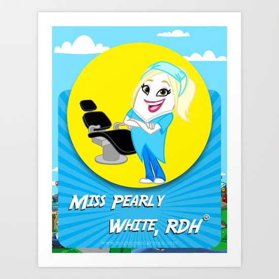 Miss Pearly White, RDH