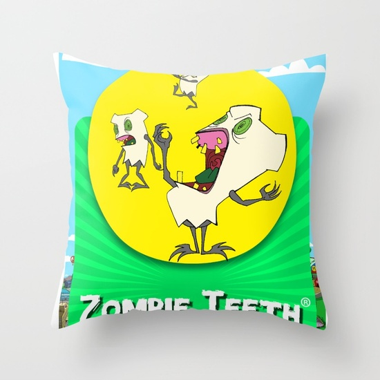 Throw Pillow Cover - Throw Pillow Cover made from 100% spun polyester poplin fabric, a stylish statement that will liven up any room. Individually cut and sewn by hand, the pillow cover measures 16