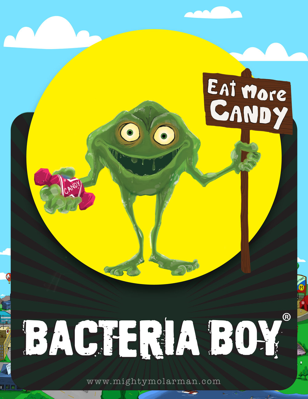 Bacteria Boy