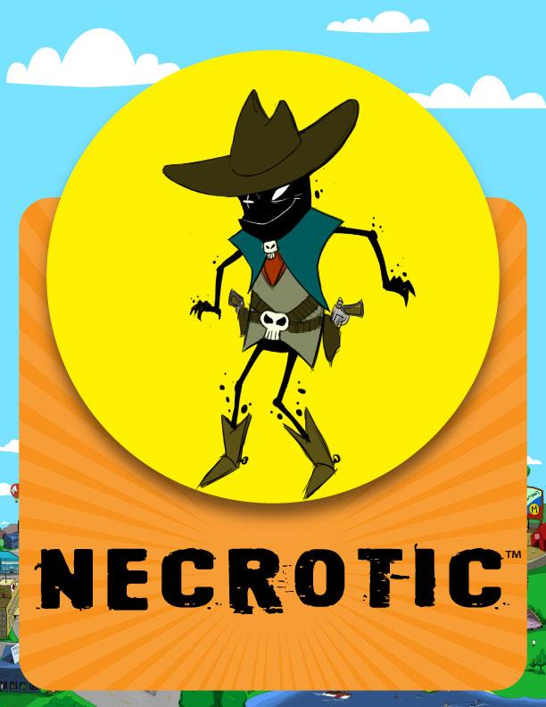Necrotic