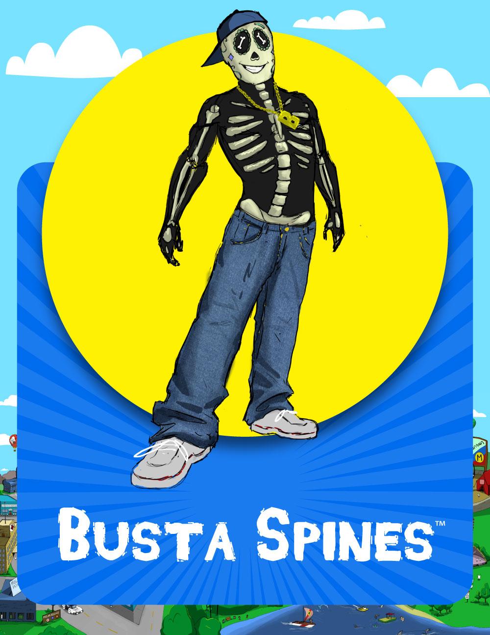 Busta Spines