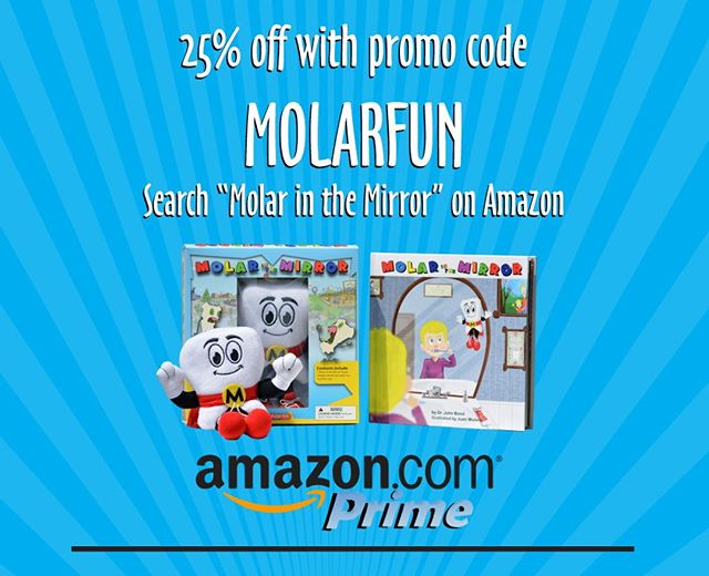 "Save 25% on ""The Molar in the Mirror"" box set. Available on Amazon Prime. #buyonegiveone #teacher #kids #education #donation #dontaions #community #givingback #givingbacktothecommunity #toydrive #Childrensbook #MightyMolar #MightyMolarMan #MolarInTheMirror #MolarMan #volunteer # #BrushFlossRinse #OralHealth #Education #PediatricDentistry #Teacher #TotalHealthHeroes