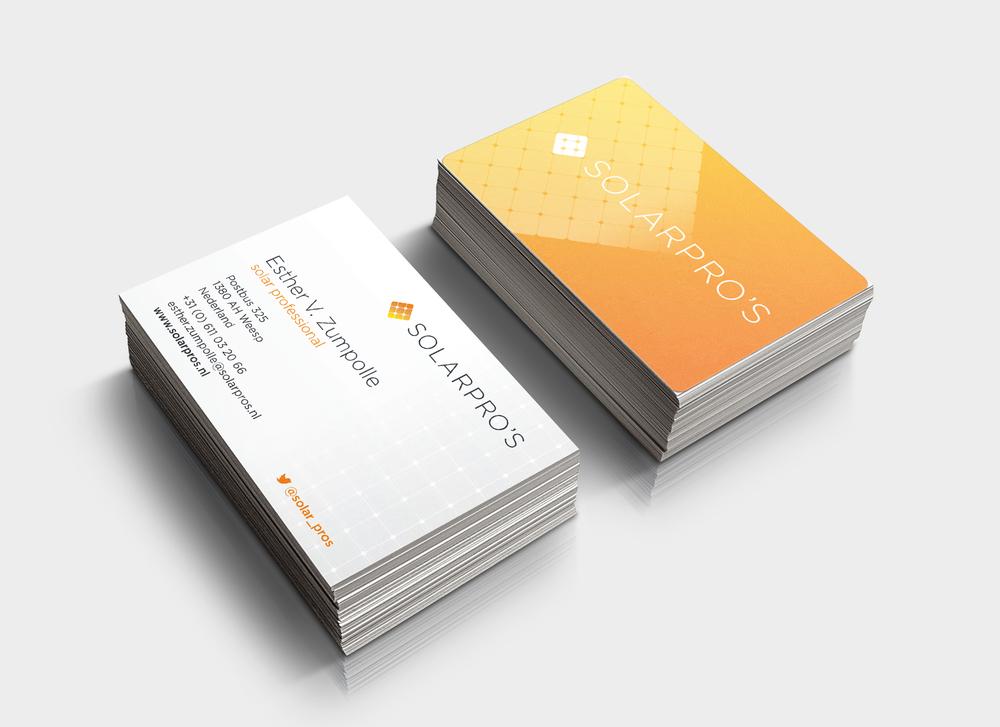 Brand identity design Solarpros