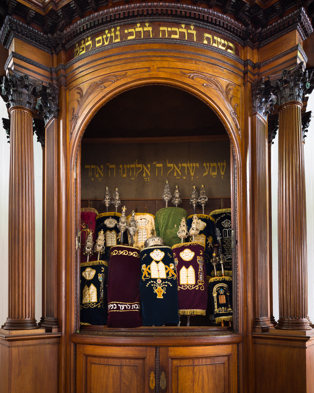 Hechal & Torah Scrolls