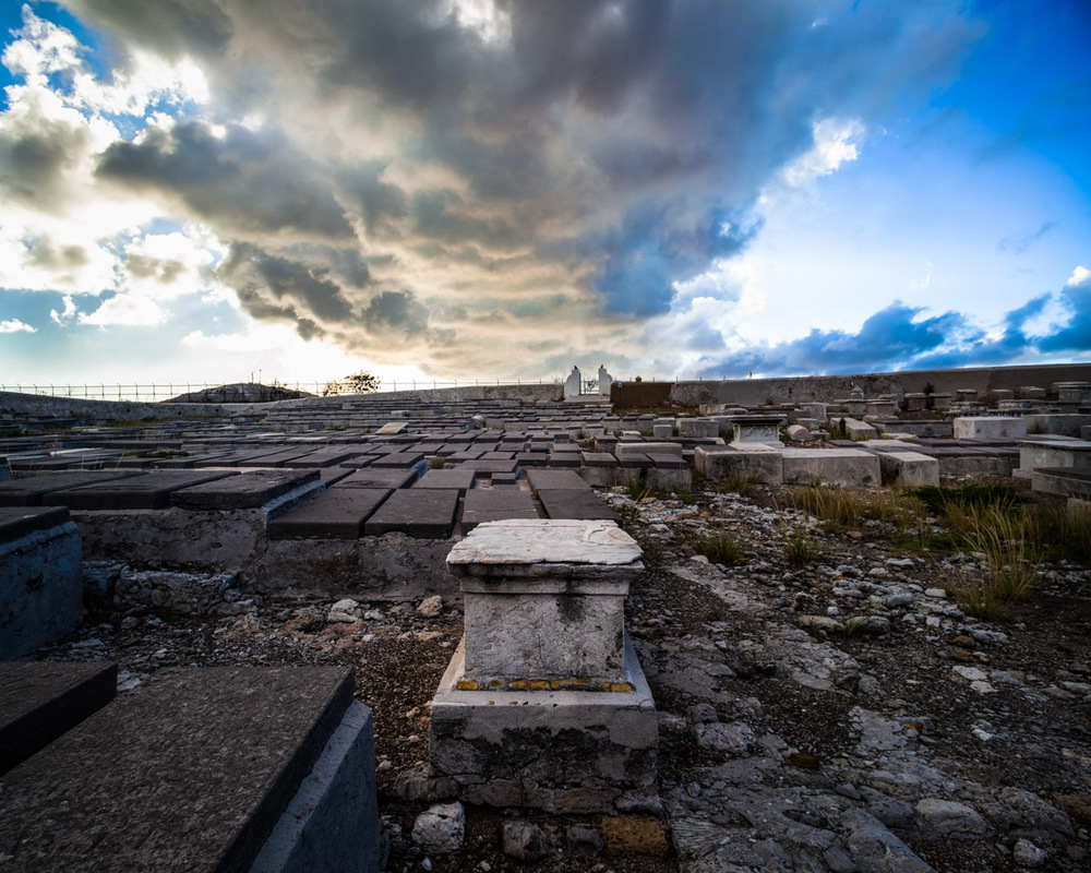 Effaced Gravestones