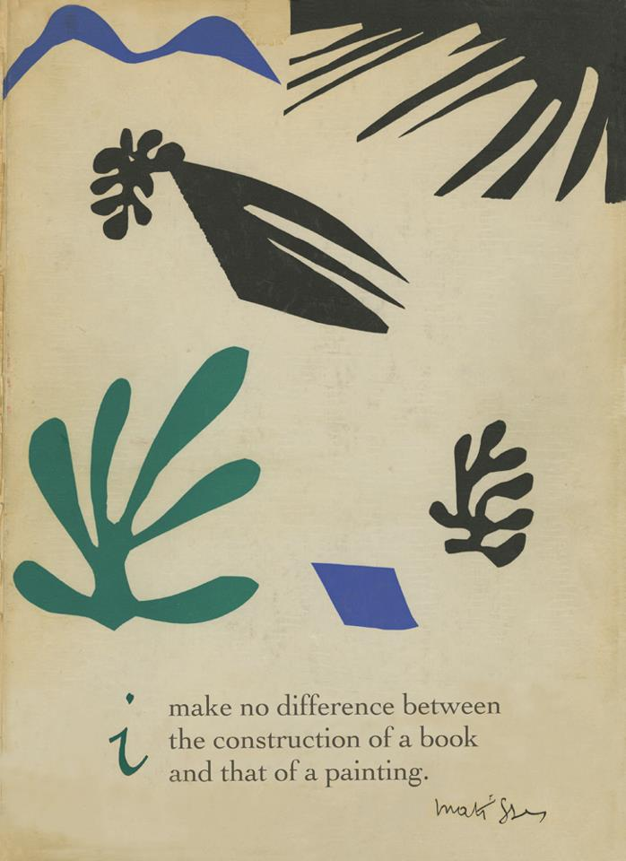 Collage by Matisse  From the cover of  The Decisive Moment  by Henri Cartier-Bresson