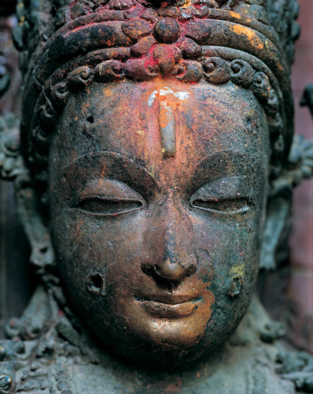 Buddha at Kwa Bahal, Patan
