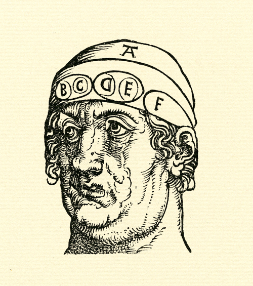 The Letter Man Woodcut by Albrecht Dürer