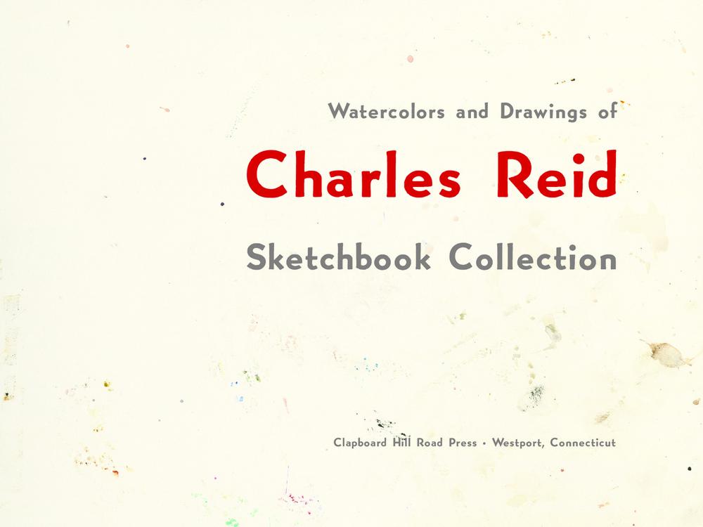 Charles Reid Sketchbook title page.jpg