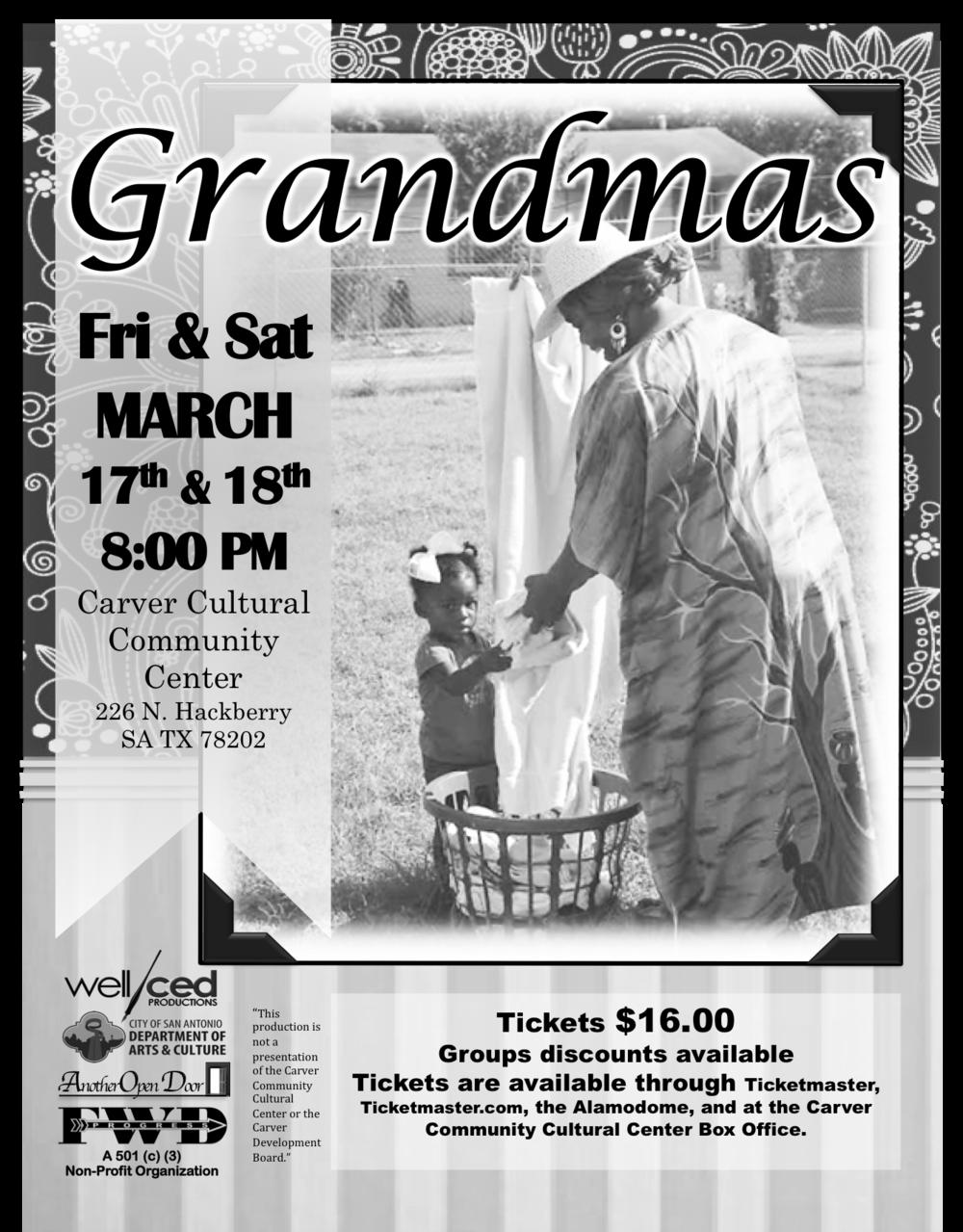 """""""Grandmas"""" stage play 2017"""