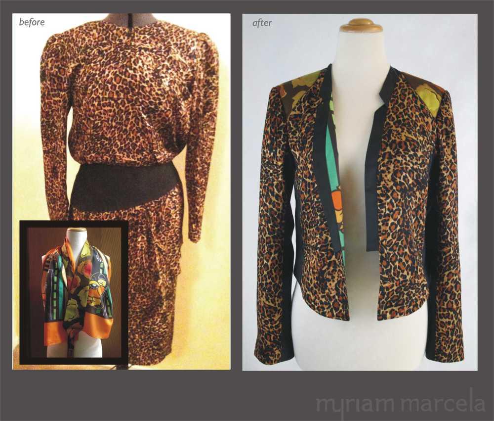 Sam Leopard Jacket.-