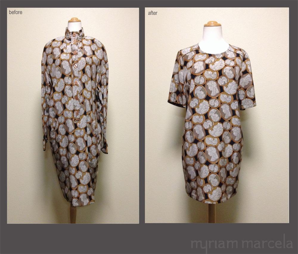 Cameo Shift Dress Vintage Renewal myriam marcela.jpg