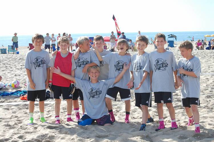 2013 Beach Soccer with Boys U11 Vipers