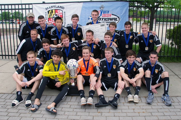 2013 BU16 State Cup Champions
