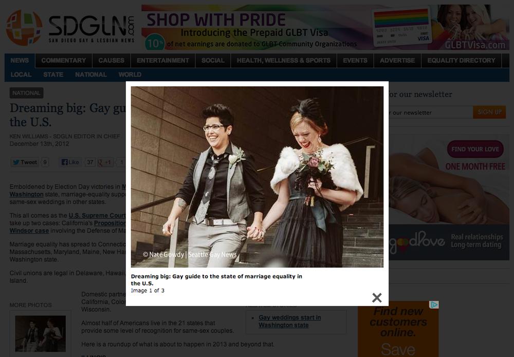 San Diego Gay & Lesbian News