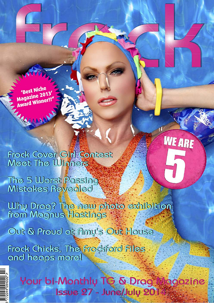 Frock Magazine cover (Cover photo: Magnus Hastings at http://magnushastingsphotography.com)