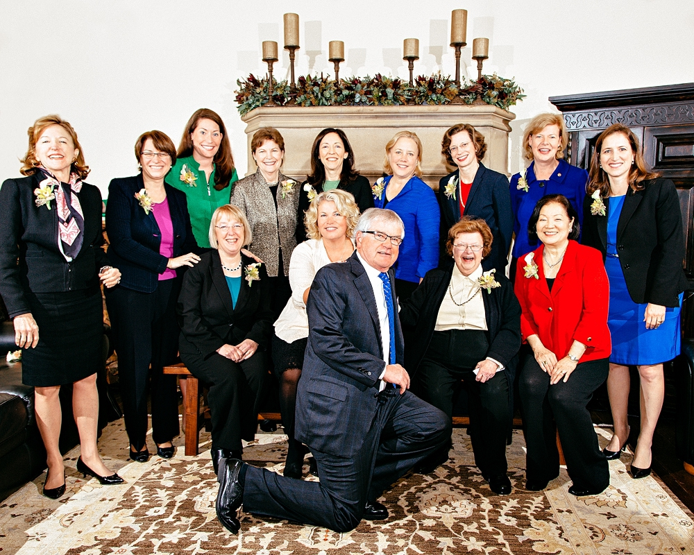 Women on the Road to the Senate, March 2014.