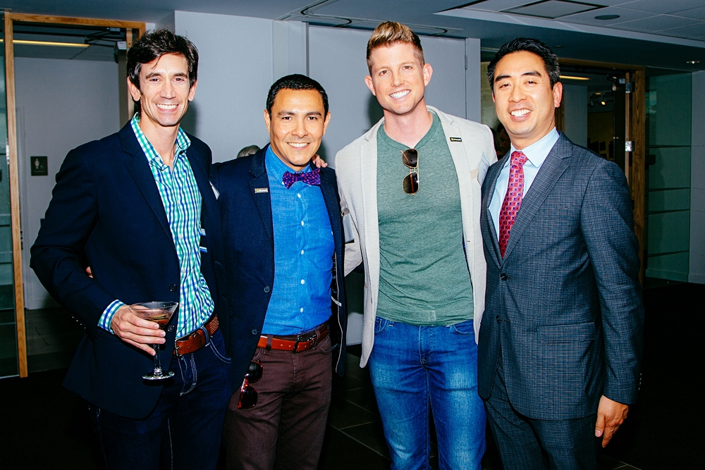 From left: Conner Madigan, Kateeva CEO and Founder, with attendees