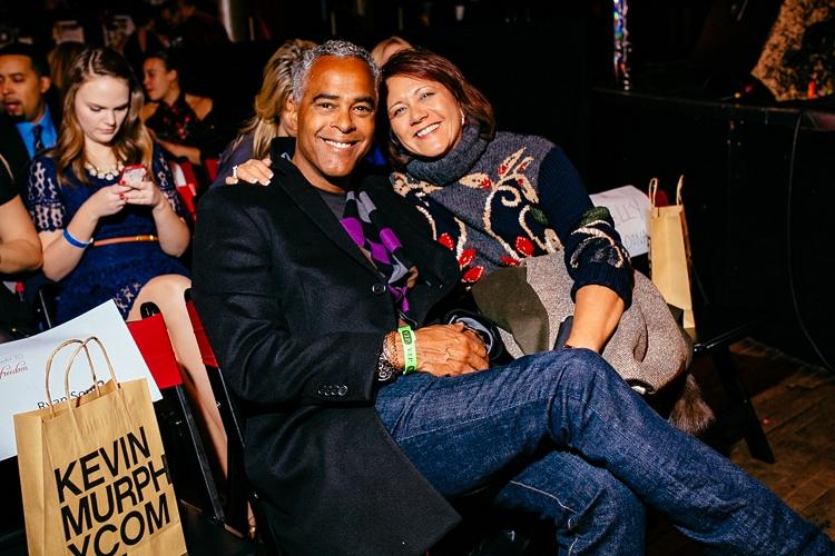 Janie Hendrix and her partner