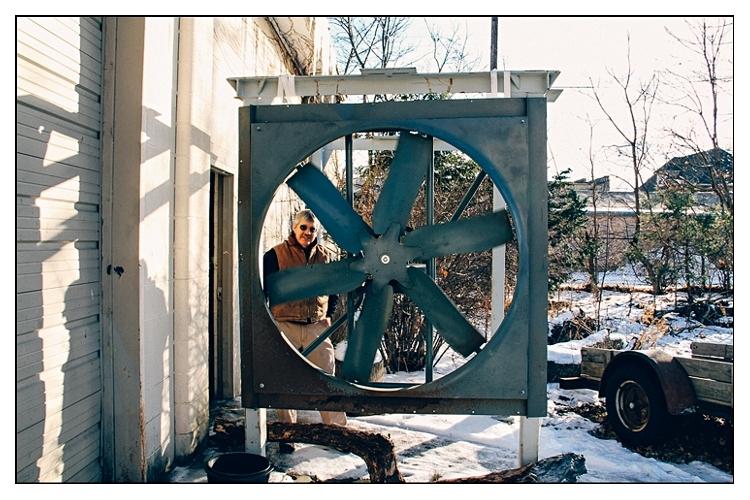 Dad at Plum St. (Elkhart, Ind.)