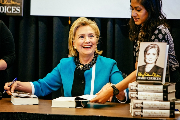 Have to include this one of Hillary at her book signing in the University District! Crossing my fingers I'll get to see more of her in person in the next two years.