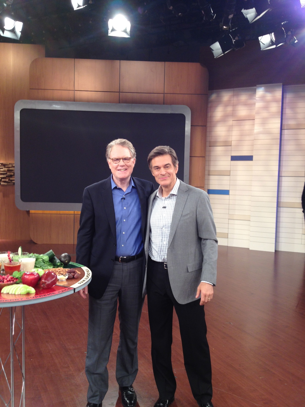 Watch Dr. Merrell discussing the 3-day juice cleanse from The Detox Prescription on The Dr. Oz Show: Part I and Part II.