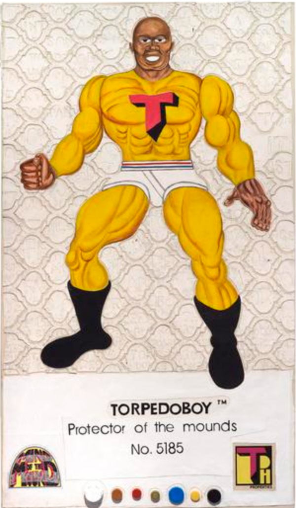 Torpedo Boy is Hancock's autobiographical character which he first conceived in the fourth grade.