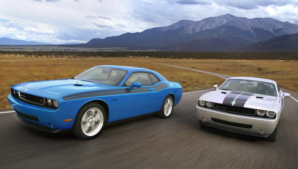 Dodge Challenger 3.6 V6, 5.7 V8, 6.1 V8, 6.4 V8