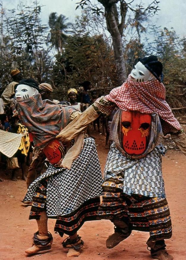 Yoruba Gelede