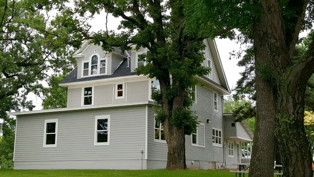 The new St. Andrew's Family Shelter HOME