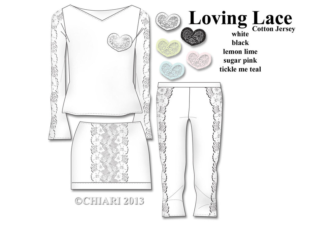 ej's room CHIARIstyle. Nights in white cotton, pyjama & loungewear set