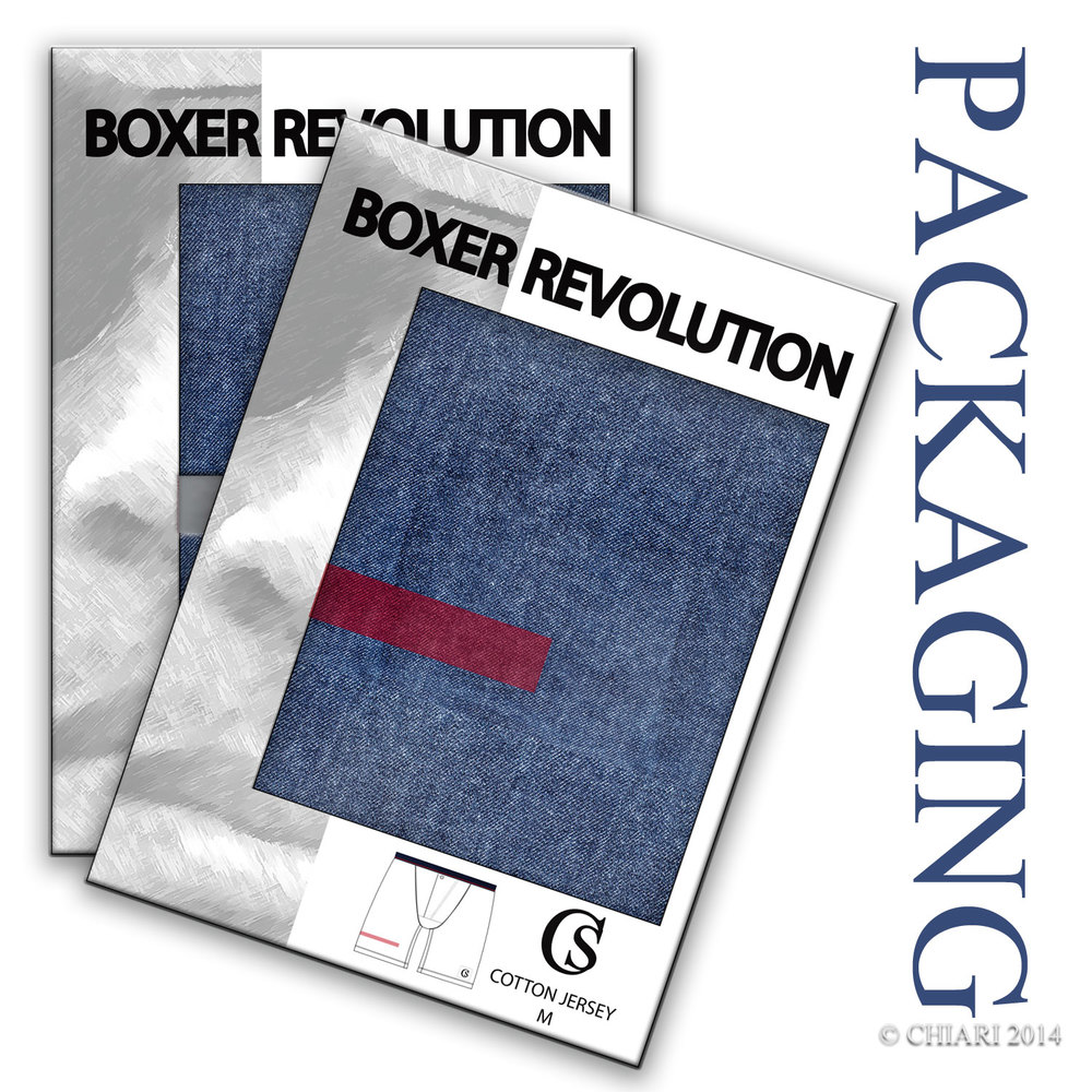 Boxer Revolution CHIARIstyle Packaging Trend