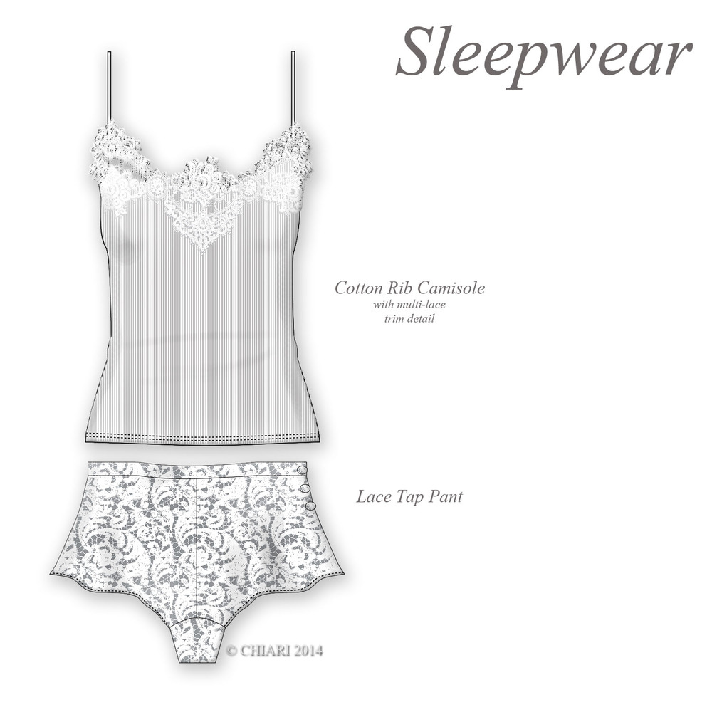 Sleepwear in the lounge. CHIARIstyle 14