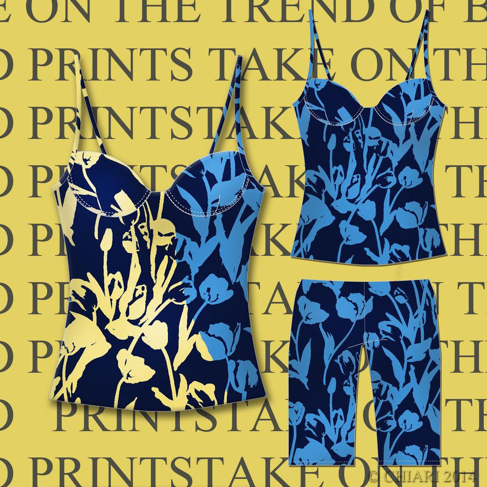 Big Bold Prints 2015 Urban Loungewear CHIARIstyle