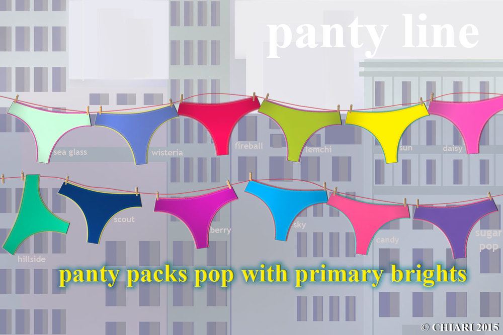 Panty Packs 2015 Pop the color CHIARIstyle 15
