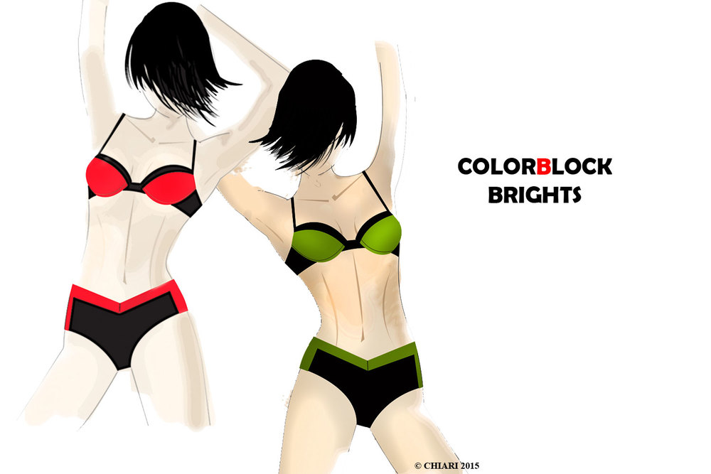 Color Block  intimates for 2016 Fashion Trend  CHIARIstyle 15